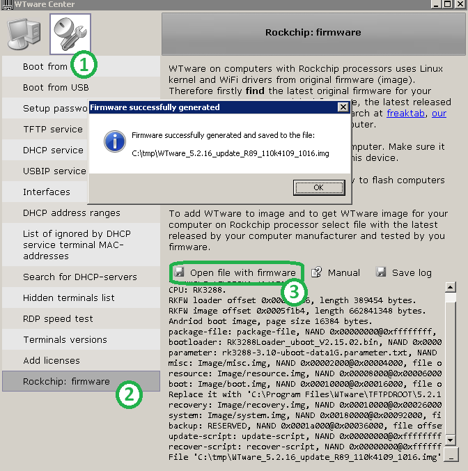 WTware on computers with ARM Rockchip processors - Windows Terminal