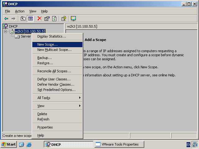 Windows Terminal Ware  Boot by network  dhcp and tftp services