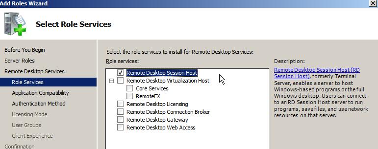 Windows Terminal Ware  RemoteFX