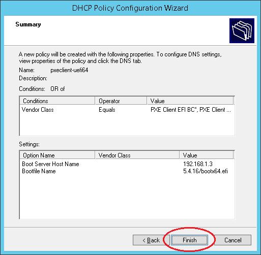 DHCP Server configuration on Windows Server 2012 — Windows Terminal Ware